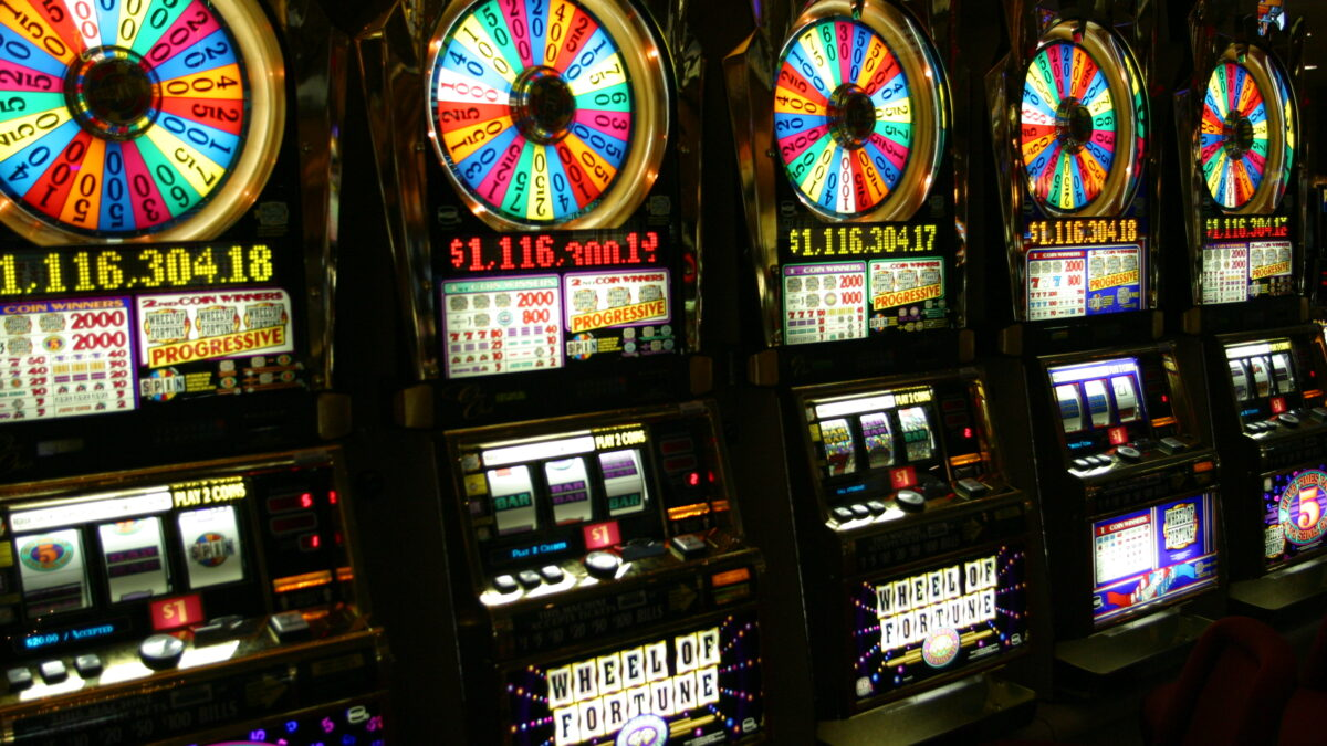 The bonus rounds of slot machine games.